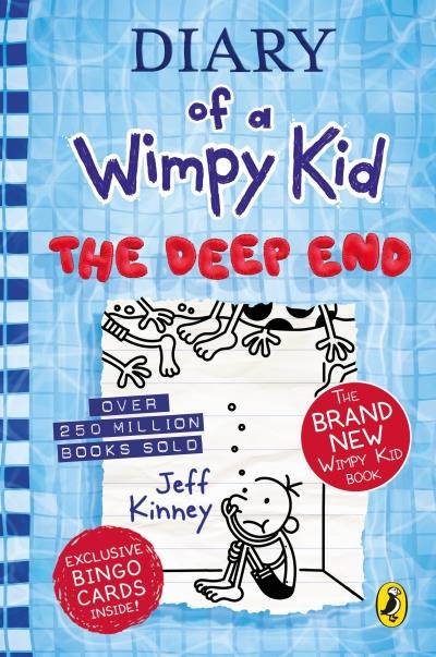 DIARY OF A WIMPY KID 15: THE DEEP END HC