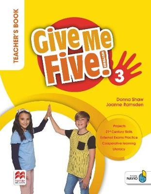 GIVE ME FIVE! 3 TCHR'S BOOK PACK