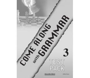 COME ALONG 3 GRAMMAR TEST